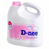 Chai nước giặt xả Dnee 3000ml màu hồng
